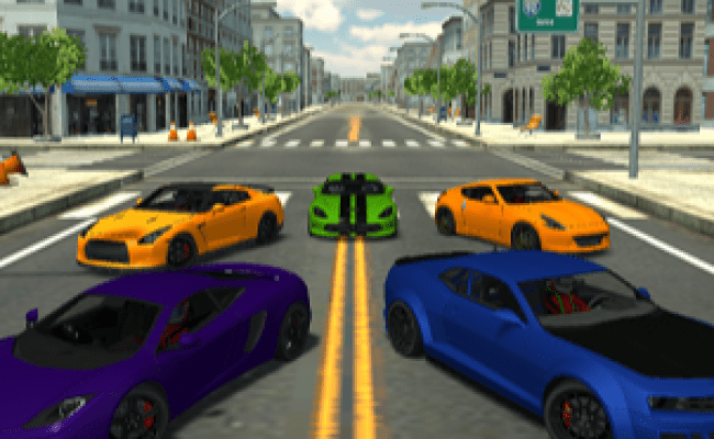 3d City Racer 2 Play Game Online