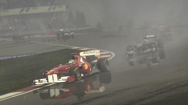 Carrera del videojuego oficial de F1: F1 2011 Codemasters