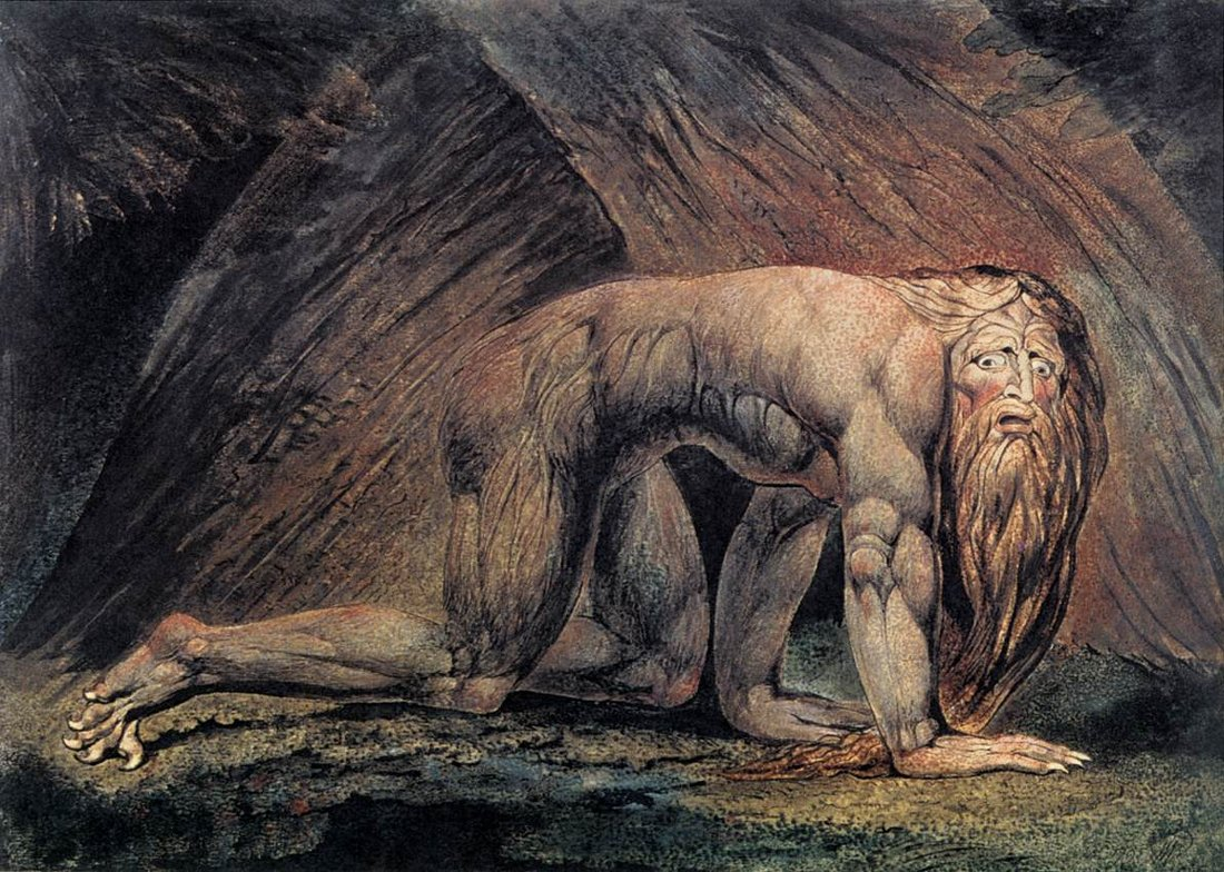 William Blake Nebuchadnezzar // larryhuntbiblecommentary.wordpress.com