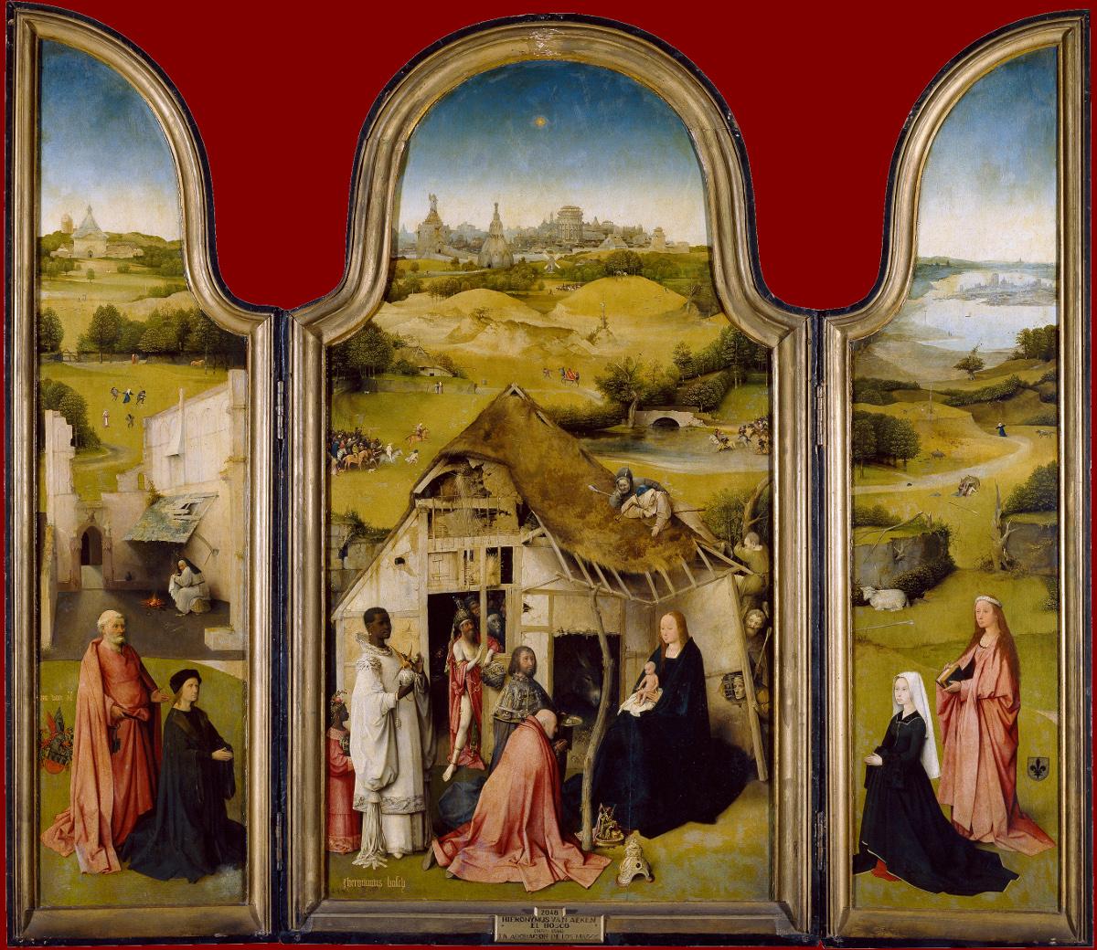 Jheronimus Bosch The Adoration of the Magi
