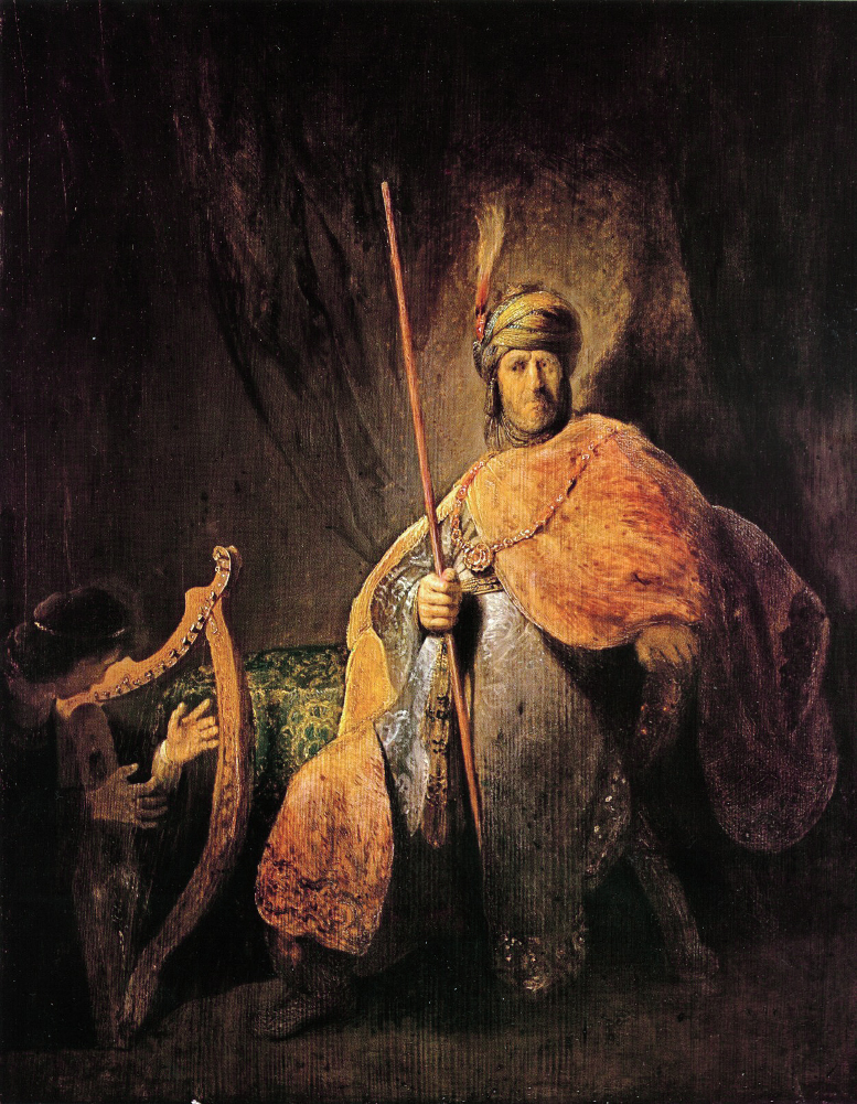 Rembrandt Harmensz. van Rijn: Saul and David (c. 1630)