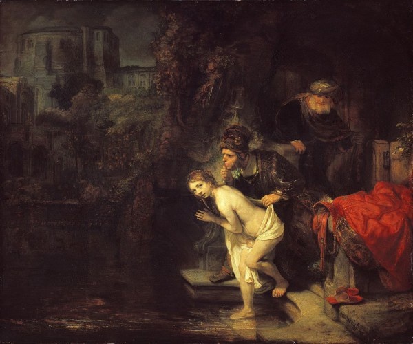 Rembrandt Harmensz. van Rijn: Susanna and the Elders