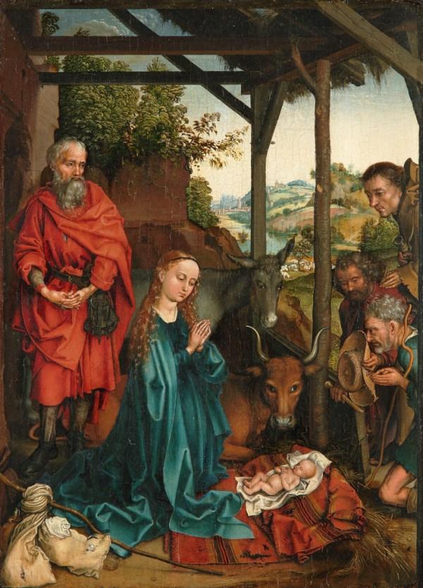 Martin Schongauer Nativity