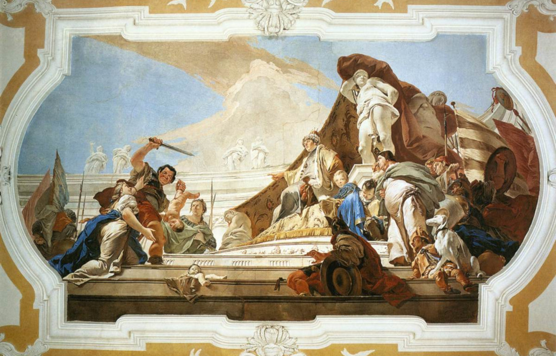 Giovan Battista Tiepolo: The Judgment of Solomon