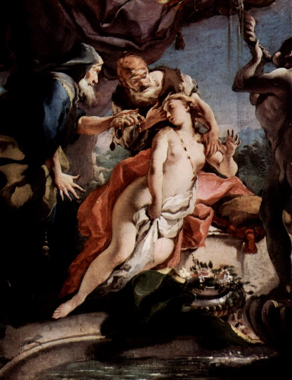 Giovan Battista Tiepolo: Susanna and the Elders