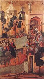 Entry into Jerusalem (Maestà)