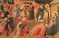 Adoration of the Magi, Fra Angelico