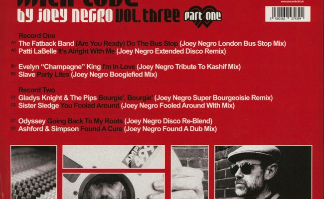Joey Negro Remixed With Love Vol 3 Part One 2lp