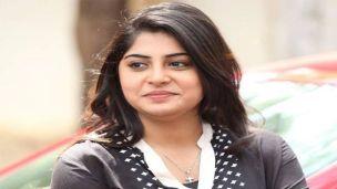Manjima Mohan as Chandrababu Naidu's wife in NTR biopic
