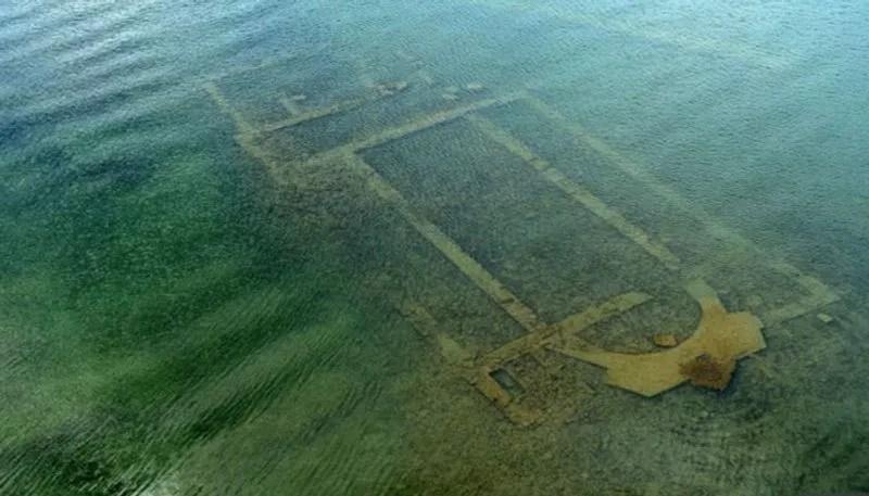 पानी में तैरता दिखा 1600 साल पहले गायब हुआ चर्च, 390 ईसवीं में हुआ था निर्माण