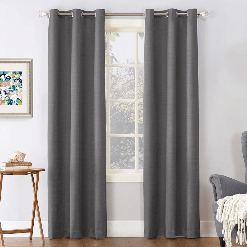 tremont charcoal thermal grommet window