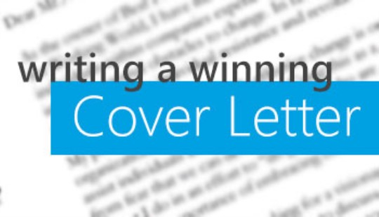Writing a Winning Cover Letter  Atomic Learning