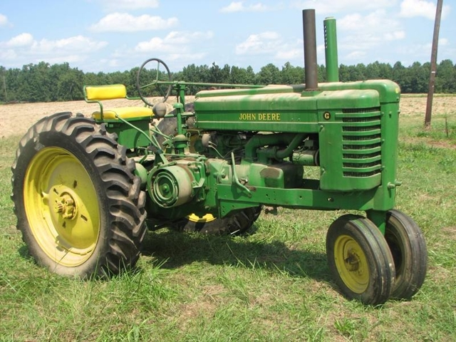 john deere g tractor for sale lincoln electric welder parts diagram jd collectible tractors e b harris inc auctioneers just think about all the deals that could be