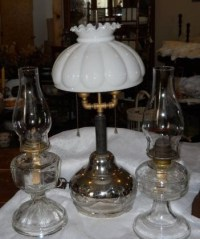 NEW 457 ANTIQUE OIL LAMPS IDENTIFICATION