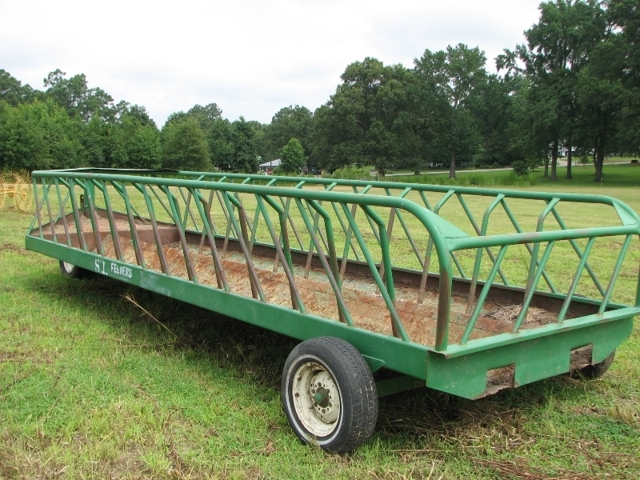 Image result for cow feed wagon pictures