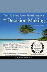 The 100 Most Powerful Affirmations for Decision Making - Audiobook Download