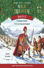 Magic Tree House: Books 31 & 32: Warriors in Winter; To the Future Ben Franklin! - Audiobook Download