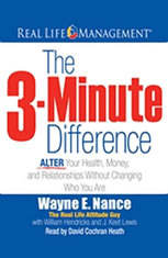 The 3-Minute Difference: ALTER Your Health Money and Relationships Without Changing Who You Are - Audiobook Download