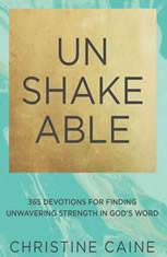Unshakeable: 365 Devotions for Finding Unwavering Strength in God's Word - Audiobook Download