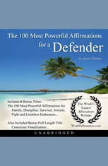 The 100 Most Powerful Affirmations for a Defender - Audiobook Download