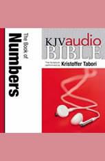 Pure Voice Audio Bible - King James Version KJV: (04) Numbers - Audiobook Download