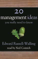 50 Management Ideas You Really Need to Know - Audiobook Download