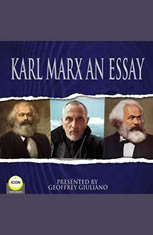 Karl Marx An Essay - Audiobook Download