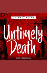Untimely Death - Audiobook Download
