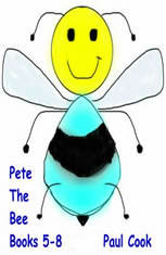 Pete the Bee Books 5-8 - Audiobook Download