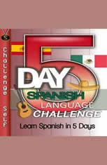 5-Day Spanish Language Challenge - Audiobook Download