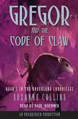 The Underland Chronicles Book Five: Gregor and the Code of Claw - Audiobook Download