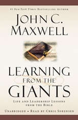 Learning from the Giants: Life and Leadership Lessons from the Bible - Audiobook Download