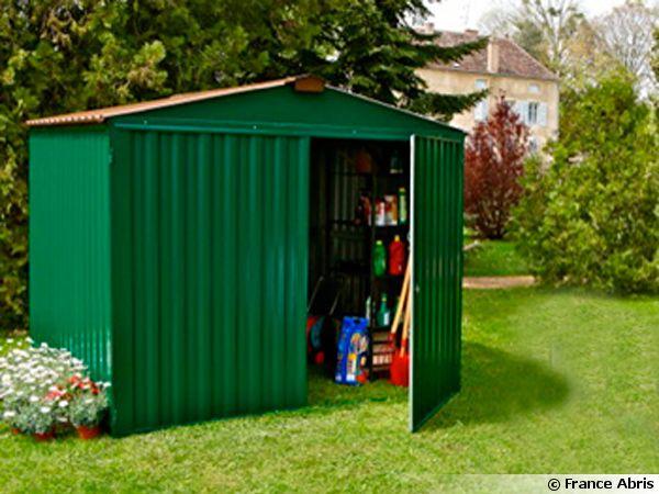 metal bois ou pvc un abri de jardin