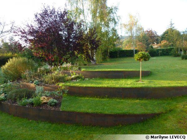 creer du relief au jardin