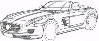 Waitwut? Patenttekeningen tonen 4-deurs Mercedes SLS