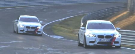 BMW M5 (F10) Ring Taxi