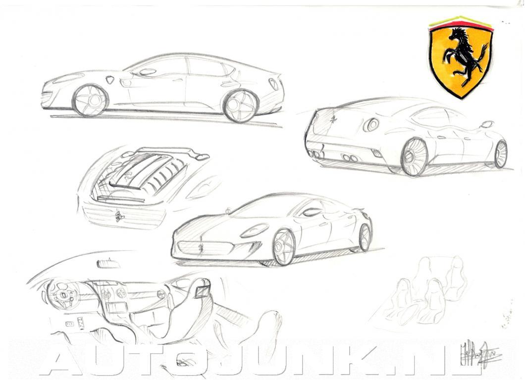 Ferrari 4 Door Coupe Concept Foto S Autojunk