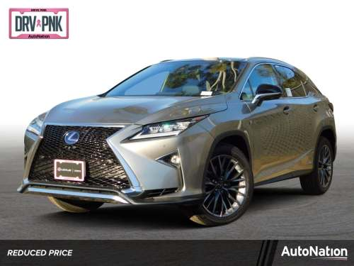small resolution of 2019 lexus rx rx 450h f sport awd