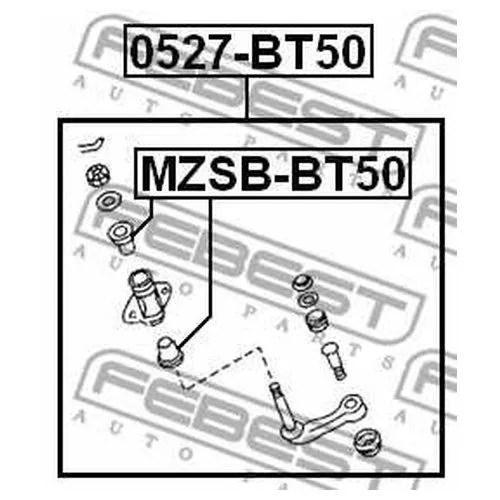 Рычаг вала рул.управления Ran 06- маятник 1454584 Ford
