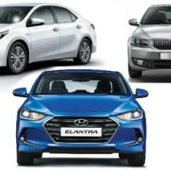 New Corolla Altis Vs Skoda Octavia Kelemahan Grand Avanza Hyundai Elantra Toyota Comparison 2016 Spec