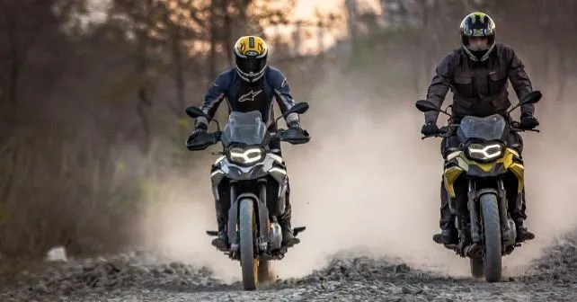 BMW F 750 GS F 850 GS Off Road Trail1