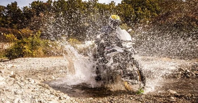 BMW F 850 GS Off Road Performance