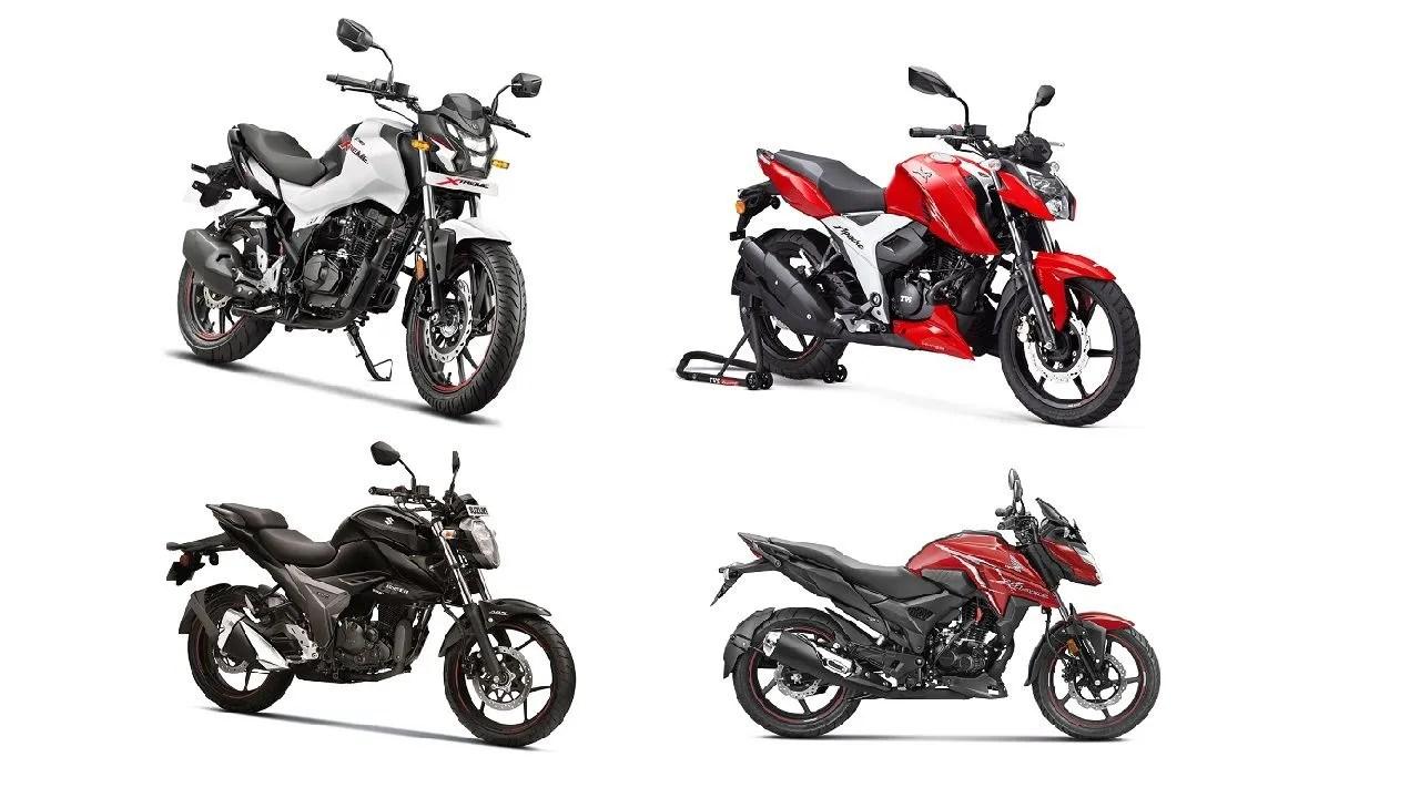 Hero Xtreme 160R vs TVS Apache RTR 160 4V vs Suzuki Gixxer