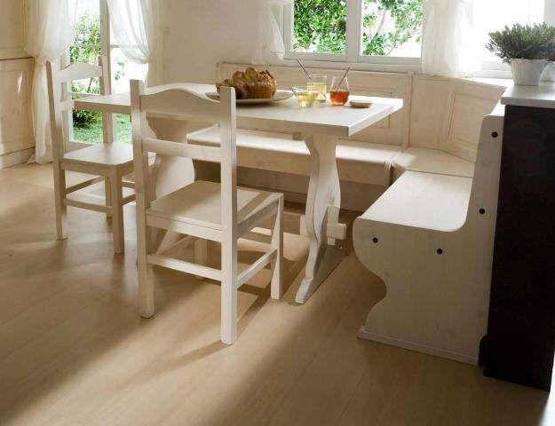 Giropanca Tavolo e sedie color bianco nuovi  Annunci Firenze