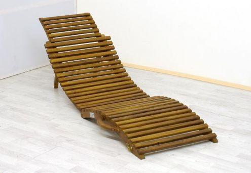 Lettino prendisole in legno da spiaggia o giardino NUOVO  Annunci Milano