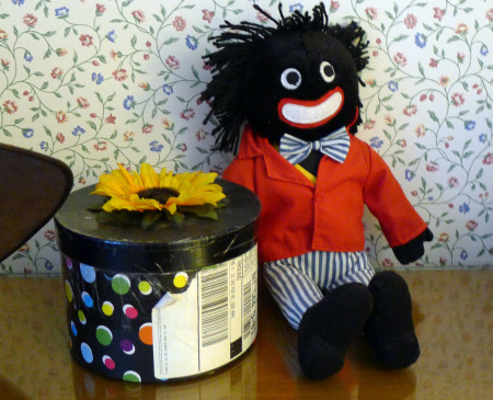Yes, I own a golliwog.