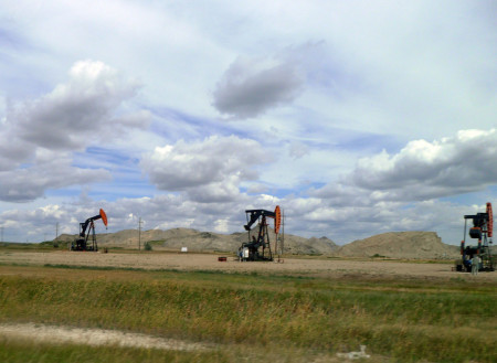 Pumping jacks and mine tailings: a Canadian tale.