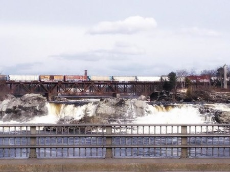 Center of Great Falls. Photo by Brooke Nasser (2015)