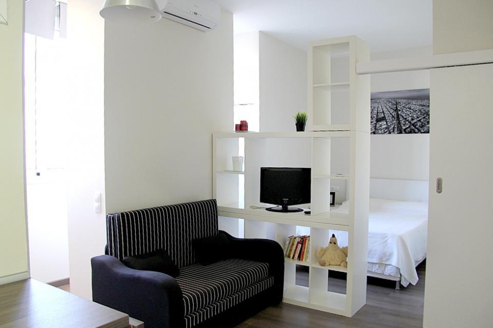 Apartamento tipo estudio cerca de Park Gell  BarcelonaHome