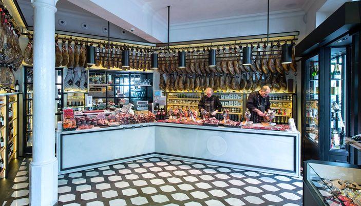 De compras gourmet en Barcelona  tiendas de alimentacin